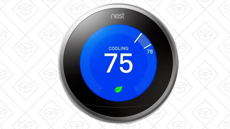 Tercera generación del termostato inteligente Nest | $199 | Home Depot