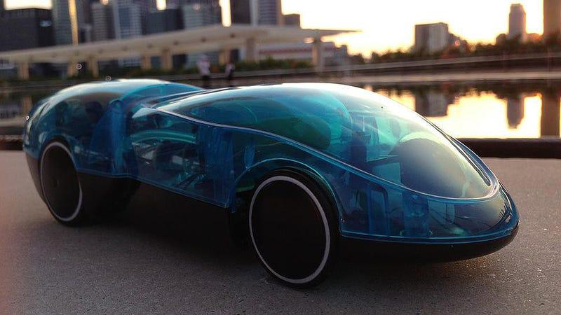i-H2GO, el coche que funciona con agua, sol, y un iPhone