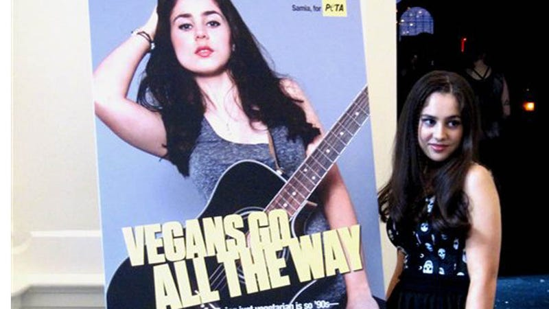 Illustration for article titled 16-Year-Old PETA Pinup Wants Teens to 'Go All The Way'