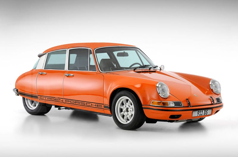 Illustration for article titled Why The Porsche-Citroën DS 911 Making The Rounds Might Be A Hoax
