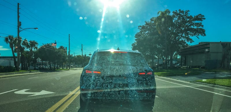 Illustration for article titled Audi Q5 Test Mule Spotted