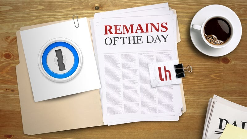 Illustration for article titled Remains of the Day: 1Password Offers up $100k Bug Bounty