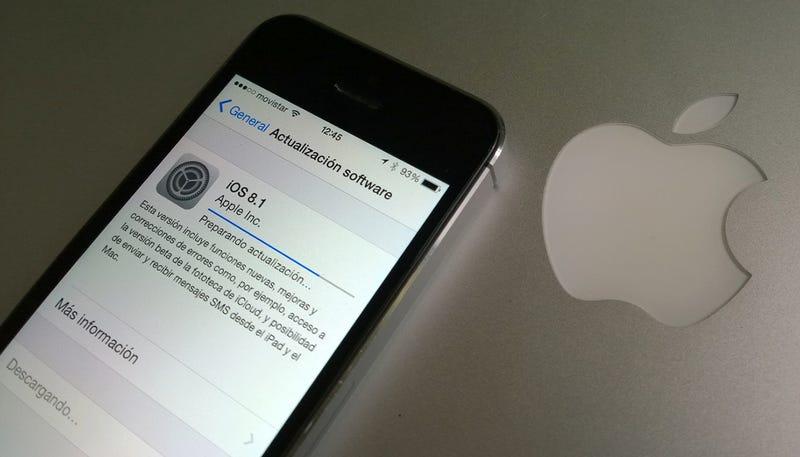 Illustration for article titled iOS 8.1 ya está disponible: estas son todas las novedades