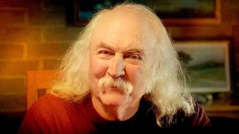 Illustration for article titled David Crosby answers our 11 questions