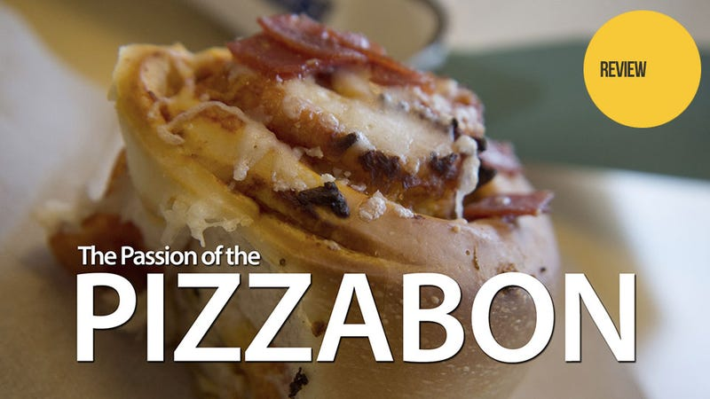 Illustration for article titled Cinnabon's Pizzabon: The Snacktaku Hideous Abomination Review