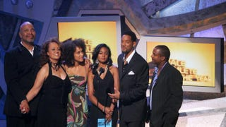 James Avery, Daphne Reid, Karyn Parsons, Tatyana Ali, Will Smith and Alfonso RibeiroKevin Winter/Getty Images
