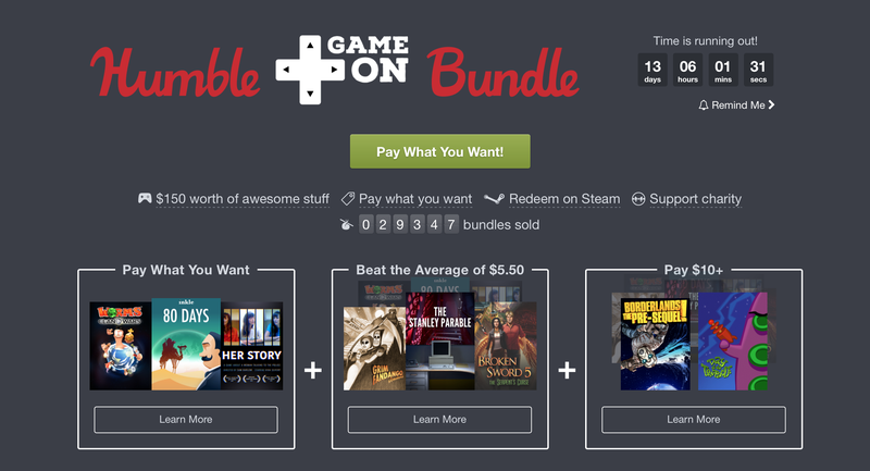 Humble GameOn Bundle