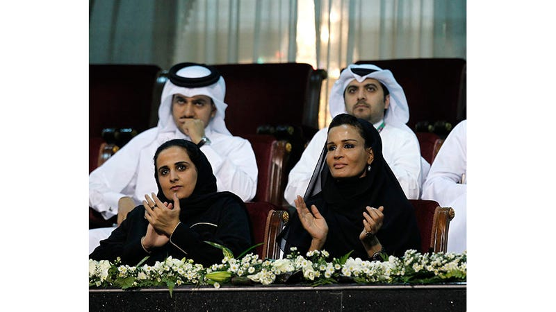 Illustration for article titled Qatar's 30-Year-Old Culture Queen Is the Art World's Biggest Player