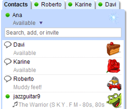 Add Google Talk to your Google homepage