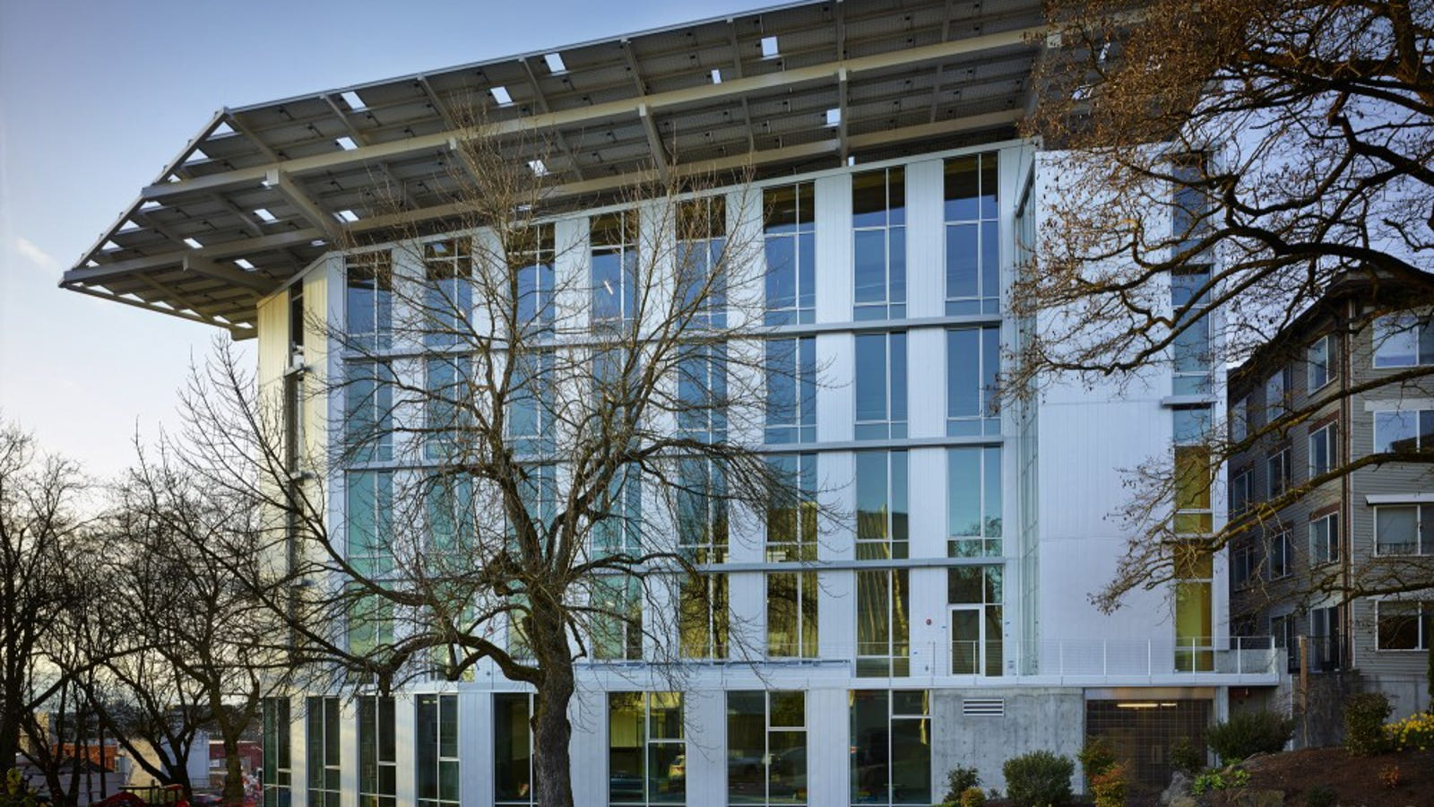 One of the World's Greenest Commercial Buildings Opens Today