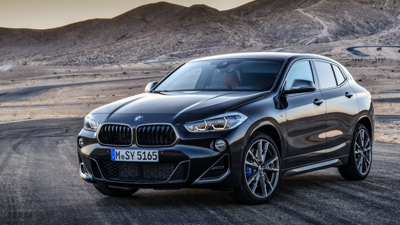 Illustration for article titled The 302 HP 2019 BMW X2 M35i Gets BMW's Most Powerful Four-Cylinder Ever