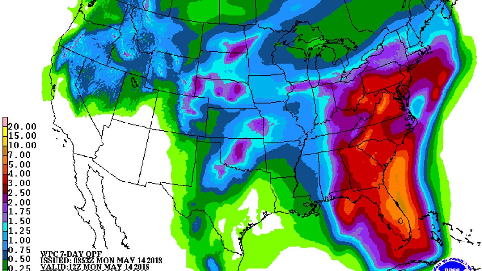 Florida May Get a Tropical Cyclone This Week