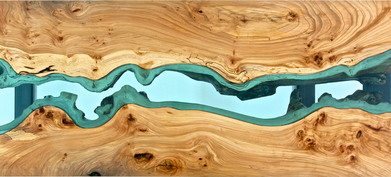 Illustration for article titled Gorgeous Topographic Tables Look Like the Earth From Above