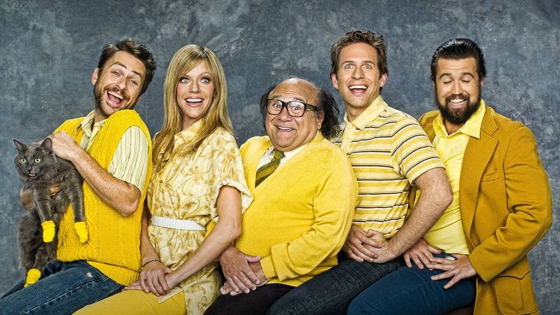 Illustration for article titled It's Always Sunny In Philadelphia's wheel of awfulness spins cruelty into comic gold