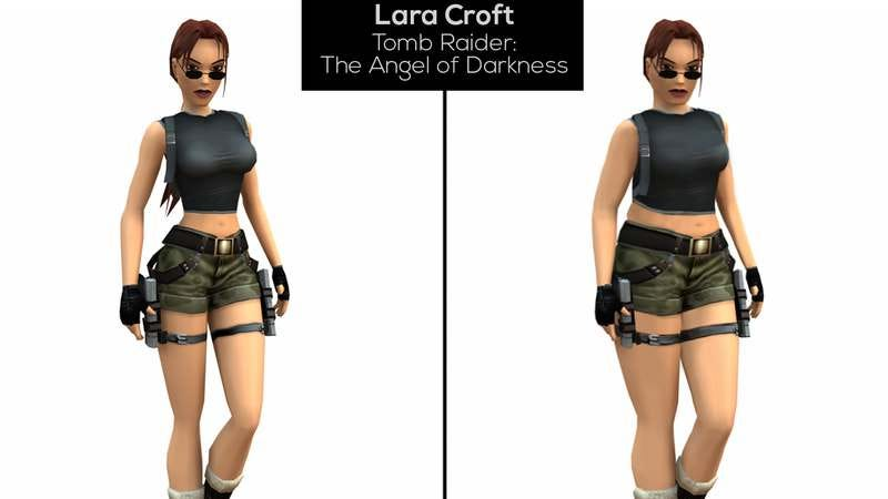 Illustration for article titled Here's what a realistic (and still badass) Lara Croft would look like