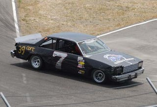 Illustration for article titled Don't Count Out Detroit: Chevy Finishes Second At LeMons!