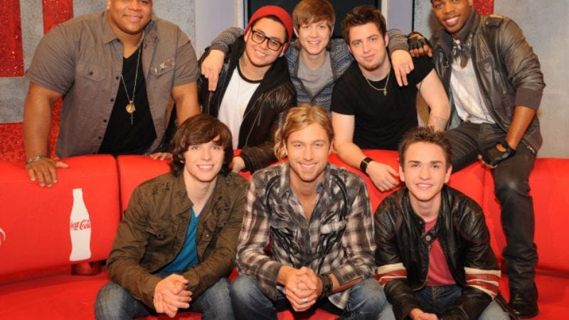 Illustration for article titled American Idol: Top 8 Boys compete