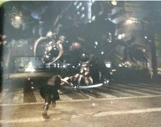 Illustration for article titled First Final Fantasy Versus XIII Gameplay Images