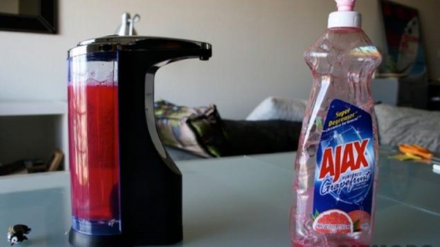 simplehuman hand soap dispenser manual