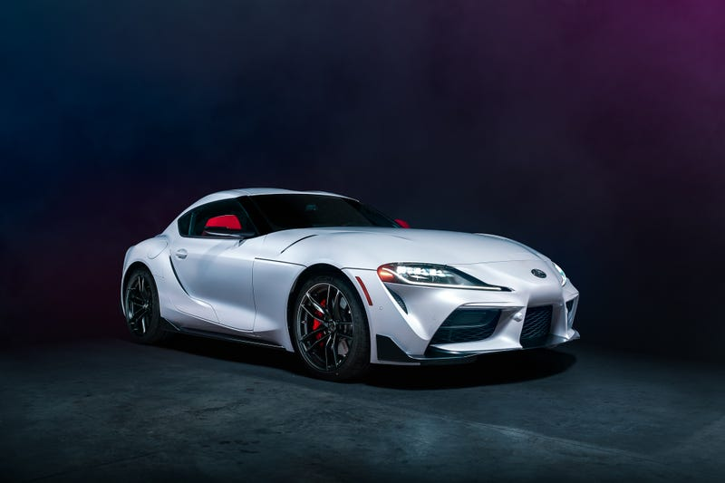The 2020 Supra in its best color.