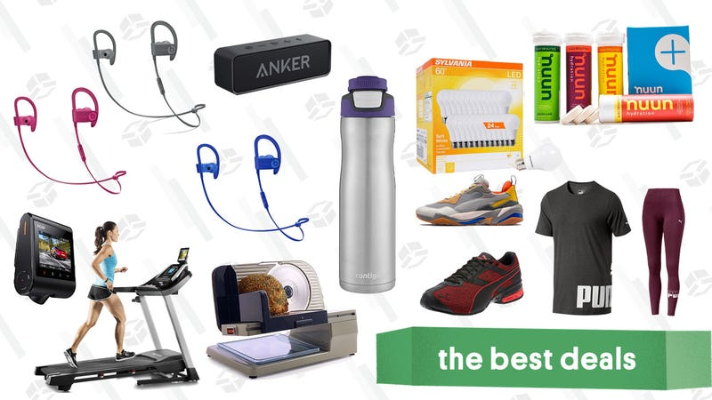 Illustration for article titled Wednesday's Best Deals: Anker Speakers, Puma Gear, Contigo Bottles, and More