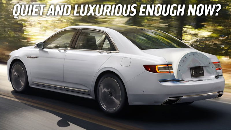 is the 2017 lincoln continental the rebirth of traditional american luxury. Black Bedroom Furniture Sets. Home Design Ideas