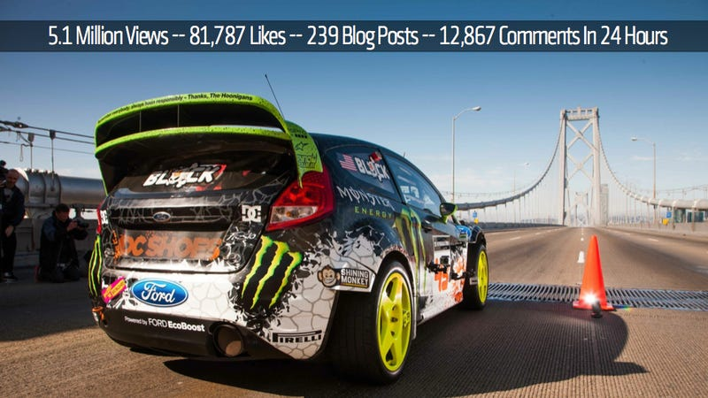 Illustration for article titled Gymkhana 5 Viewed 5.1 Million Times In 24 hours
