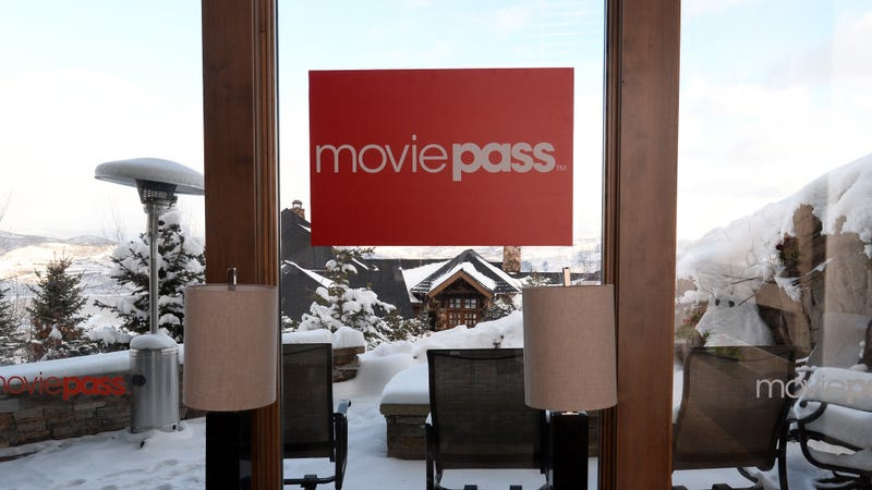 We're going to miss you most of all, ridiculously useful photoset of the MoviePass hospitality house at Sundance 2018.