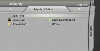 Illustration for article titled Xbox Fall Update Update: Voyeuristic Friends List