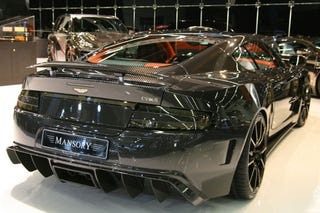 Illustration for article titled Mansory Cyrus Adds Dollop Of Carbon Fiber To A DBS