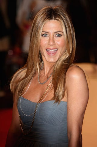 Illustration for article titled Jennifer Aniston ______s With Her Eyes