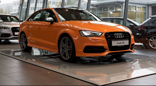 Illustration for article titled have an Audi S3 in orange