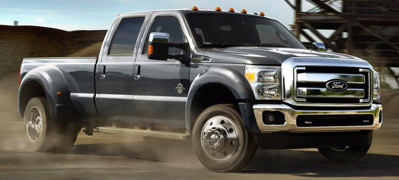Illustration for article titled I'm About To Wring Out The 2015 Ford Super Duty Trucks, Ask Me Anything