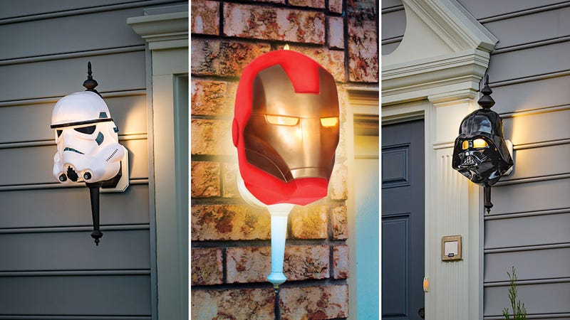 Illustration for article titled Nerdy Porch Light Covers Let Everyone Know Your Home Is a Safe Place For Geeks