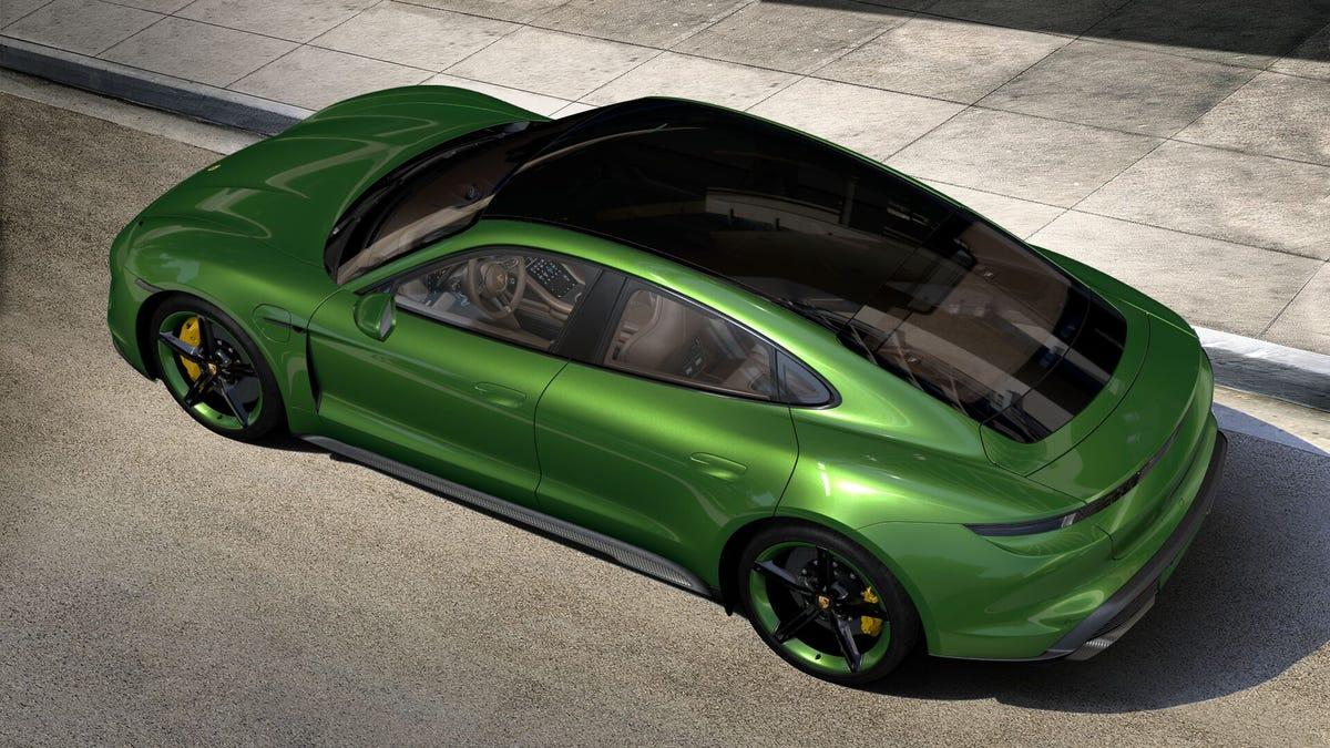Let S Configure Your Porsche Taycan