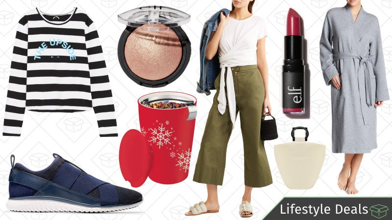 Illustration for article titled Tuesday's Best Lifestyle Deals: Tea Stuff, e.l.f. Cosmetics, Cole Haan, Net-a-Porter, and More