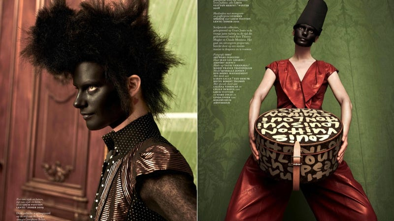Illustration for article titled Vogue Runs Another Blackface Editorial