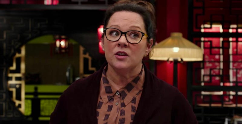 Melissa McCarthy's next mission? Solve a puppet murder spree. Image: Sony