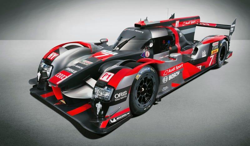 The New Audi Le Mans Car Still Beats That Wacky Diesel Drum