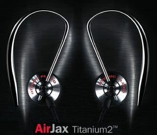 Illustration for article titled Atomic Floyd AirJax Headphones Made of Titanium2 Look The Biz