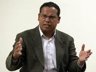 Rep. Keith Ellison (D-Mich.), one of two Muslims in Congress, will testify. (Getty Images)