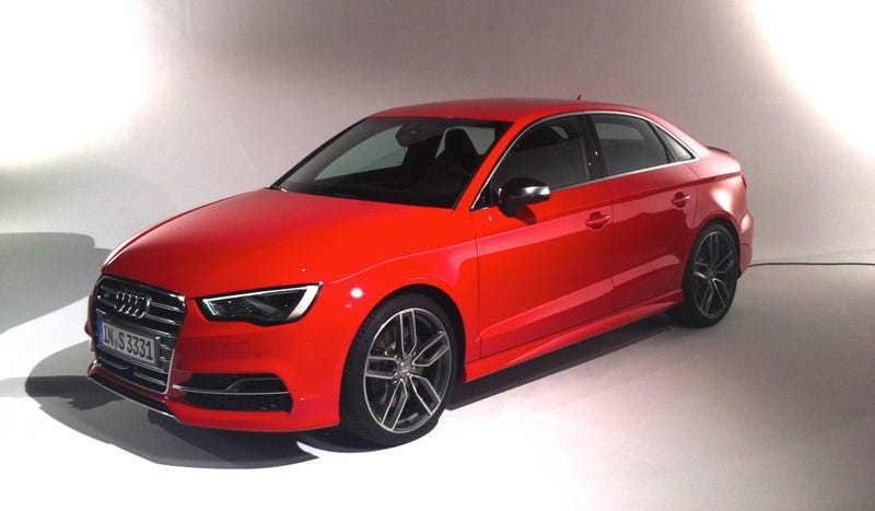 Illustration for article titled The 2015 S3 Looks Pretty Good In Person