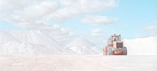 Illustration for article titled These Salt Mines Look Like Landscapes From Another Planet