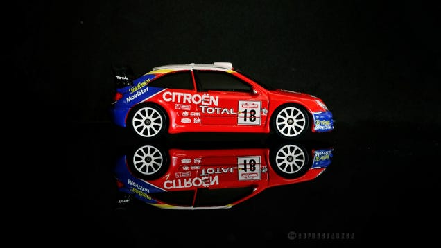 Illustration for article titled French Friday - Majorette Citroën Xsara WRC