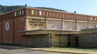 Mescalero Apache Tribal Administrative Offices and Community Center in New MexicoWikimedia Commons