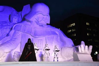 Illustration for article titled Japan Turns Hoth into Mount Rushmore