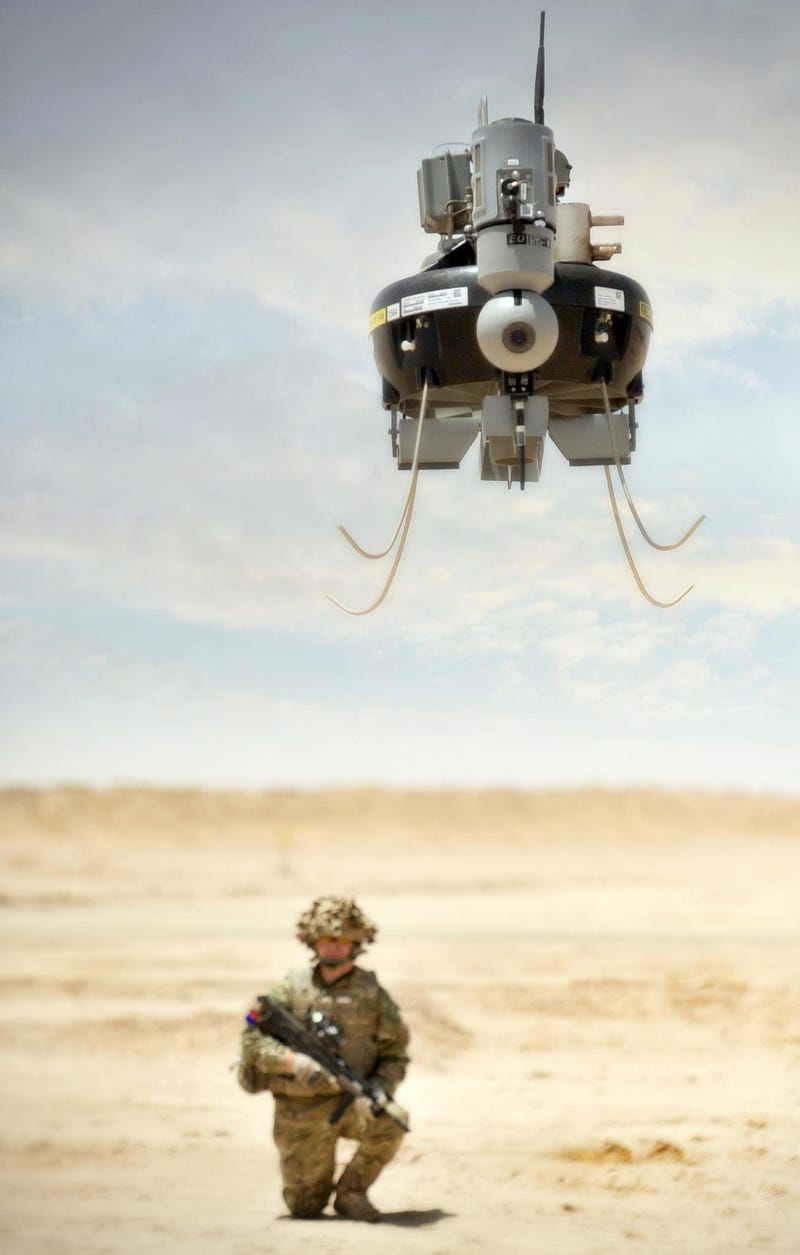 Illustration for article titled Military Drones Are Looking More and More Like Star Wars Characters
