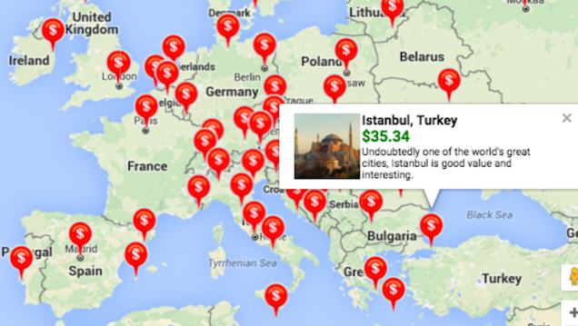 This index helps you plan your dream european backpacking for Planning your dreams org