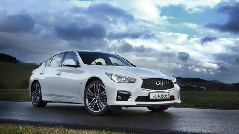 Illustration for article titled The Infiniti Q50 Gets A 211 Horsepower Turbo Four