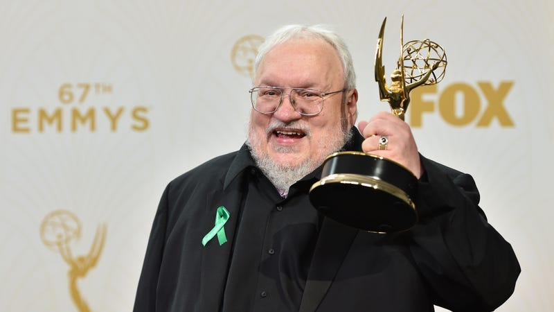 Illustration for article titled George R. R. Martin announces release date for new book that's not The Winds Of fucking Winter